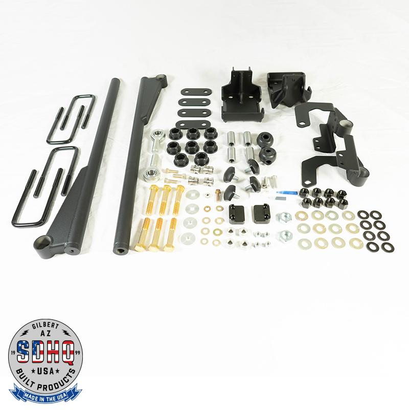 '07-20 Toyota Tundra SDHQ Built Traction Bar Kit-image