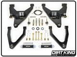 07-Current Chevy/GM 1500 Long Travel Kit Suspension Dirt King Fabrication
