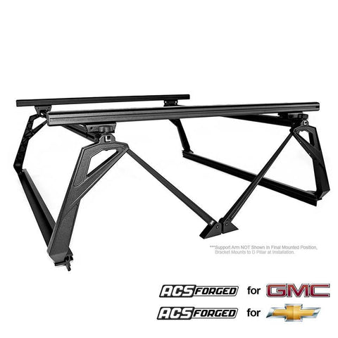 '07-Current Chevy/GMC 2500/3500HD-ACS Forged Bed Accessories Leitner Designs