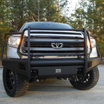 07-Current Toyota Tundra Elite Black Steel Series Front Bumper Bumper Fab Fours