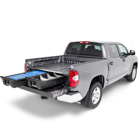 07-Current Toyota Tundra Truck Bed Storage System Organization Decked