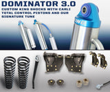 "'08-10 Ford F250/350 3.0 Dominator System-2.5"" Lift Suspension Carli Suspension"