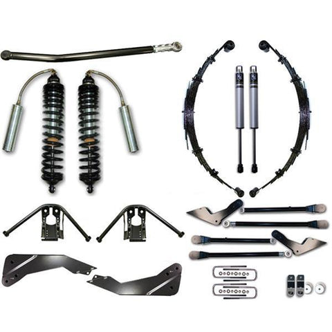 "'08-10 Ford F250/F350 4WD 7-9"" Coilover Conversion System - Stage 1 Suspension Icon Vehicle Dynamics"