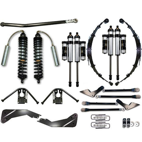 "08-10 Ford F250/F350 4WD 7-9"" Coilover Conversion System - Stage 3 Suspension Icon Vehicle Dynamics"