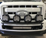 "'08-16 Ford Super Duty 20"" Lower Bumper LED Light Bar Mount Kit Lighting Baja Designs"
