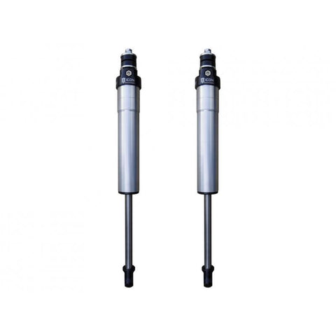 08-Current Toyota Landcruiser 200 Series V.S. 2.5 Series IR Rear Shocks Suspension Icon Vehicle Dynamics