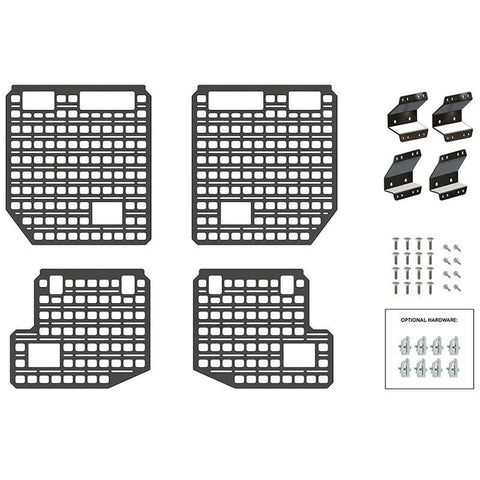 09-14 Ford F150 Bedside Rack System-4 Panel Kit Bed Accessory BuiltRight Industries