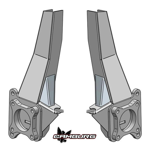 '09-15 2WD Ford F150 Performance 4.5 Spindle Kit Suspension Camburg Engineering