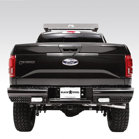 09-Current Ford F150 Black Series Rear Bumper Bumper Fab Fours