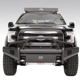 09-Current Ford F150 Elite Black Steel Series Front Bumper Bumper Fab Fours