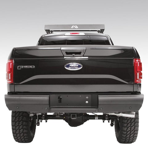 09-Current Ford F150 Elite Black Steel Series Rear Bumper Bumper Fab Fours