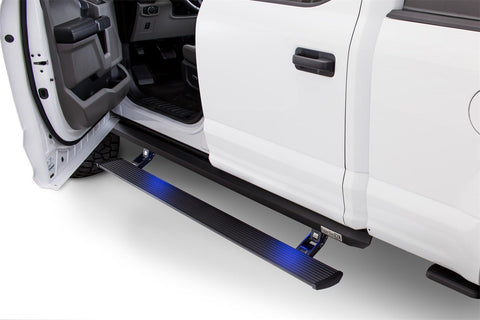 09-Current Ford F150 SuperCrew Cab XL Powerstep PowerSteps AMP Research