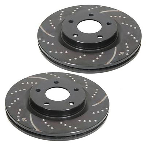 10-14 Ford Raptor EBC 3GD Rear Rotors Brakes EBC