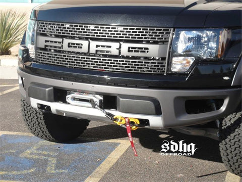 '10-14 Ford Raptor SDHQ Built Winch Mount Winch Mount SDHQ Off Road