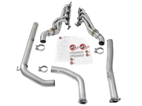 '10-18 Toyota Tundra Race Series Twisted Steel Long Tube Header & Connection Pipes Headers AFE Power