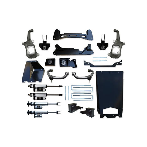 "'11-16 Chevy/GMC 2500HD/3500 6-8"" Suspension System with Torsion Drop-Stage 3 Suspension Icon Vehicle Dynamics"