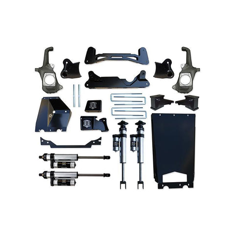 "'11-16 Chevy/GMC 2500HD/3500 6-8"" Suspension System with Torsion Relocation-Stage 2 Suspension Icon Vehicle Dynamics"