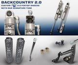 "'11-16 Ford F250/350 2.0 Backcountry System-2.5"" Lift Suspension Carli Suspension"