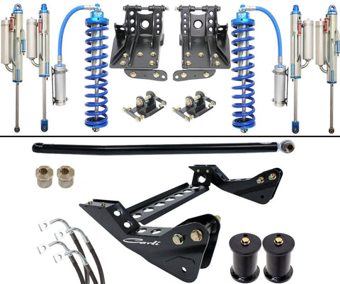 "'11-16 Ford F250/350 2.5 Coilover Bypass System-4.5"" Lift Suspension Carli Suspension"