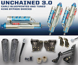 "'11-16 Ford F250/350 3.0 Unchained System-4.5"" Lift Suspension Carli Suspension"