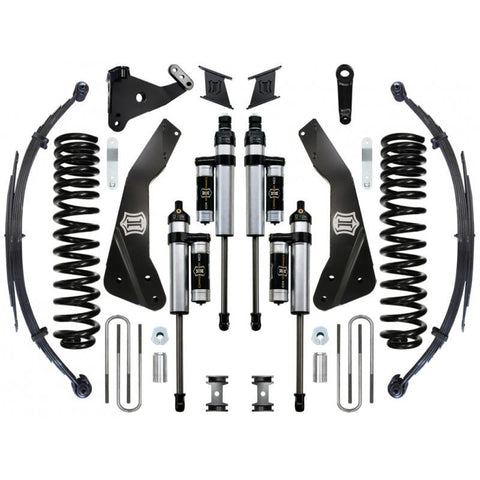 "'11-16 Ford F250/F350 4WD 7"" Suspension System-Stage 4 Suspension Icon Vehicle Dynamics"