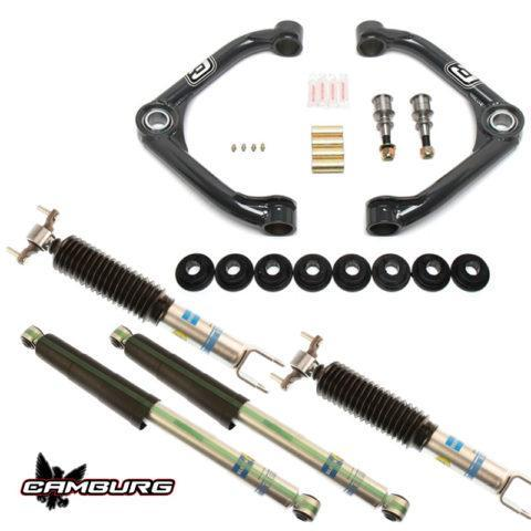 '11-19 Chevy/GM 2500/3500HD Camburg Bilstein Performance Kit Suspension Camburg Engineering
