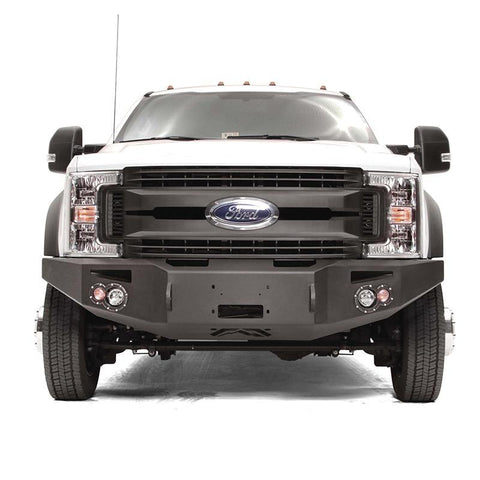 11-Current Ford F450/F550 Premium Winch Bumper Bumper Fab Fours