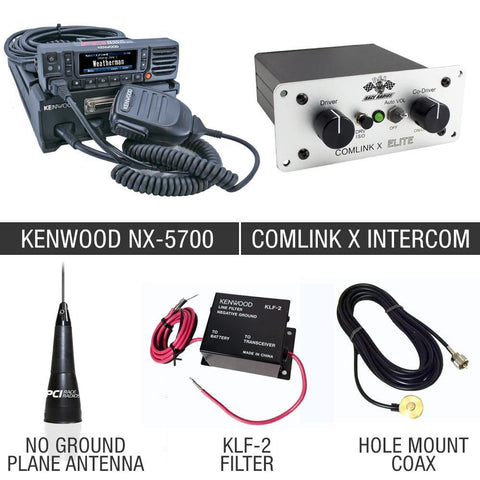 110w Race Package 10 Communications PCI Radios
