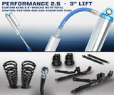 "'12-13 Dodge Ram 2500/3500 2.5 Performance Long Arm System-3"" Lift Suspension Carli Suspension"
