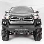12-Current Toyota Tacoma Vengeance Series Front Bumper Bumper Fab Fours