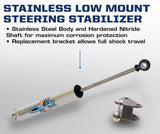 '13-Current Dodge 2500/3500 Low Mount Steering Stabilizer Steering Suspension Carli Suspension