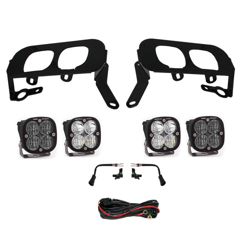 '14-15 Chevy Silverado 1500 Dual Fog Pocket Kit Lighting Baja Designs