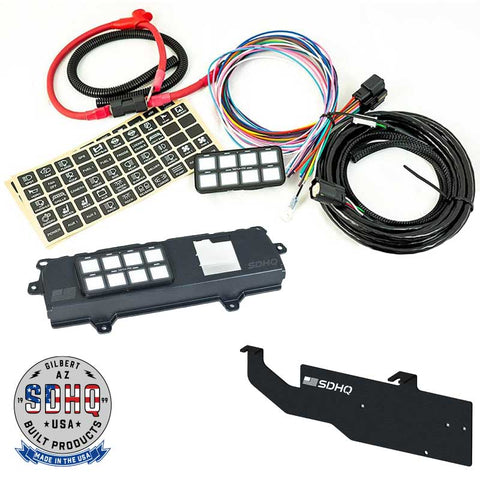 '14-18 Chevy/GMC 1500 SDHQ Built Complete Switch Pros SP-9100 Kit Lighting SDHQ Off Road