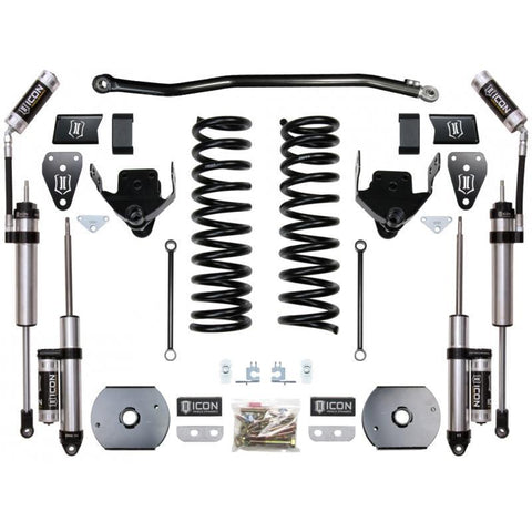 "'14-18 Dodge Ram 2500 4WD 4.5"" Suspension System-Stage 2 (Air Ride) Suspension Icon Vehicle Dynamics"