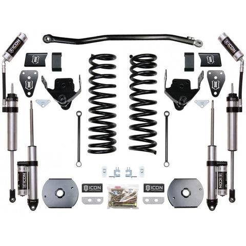 "'14-Current RAM 2500 4WD 4.5"" Suspension System - Stage 2 Suspension Icon Vehicle Dynamics"