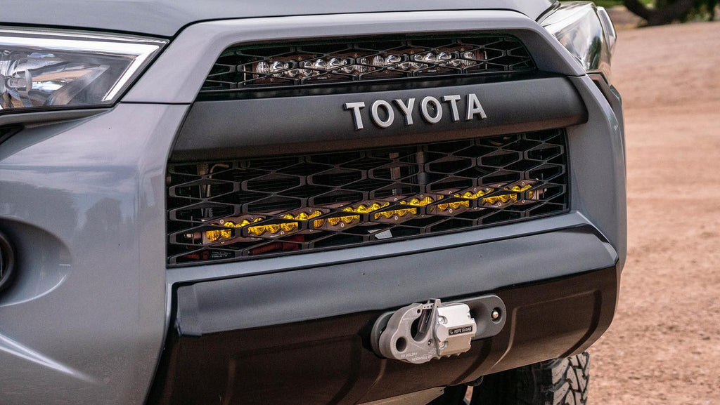 Toyota 4Runner SDHQ Built Winch Mount