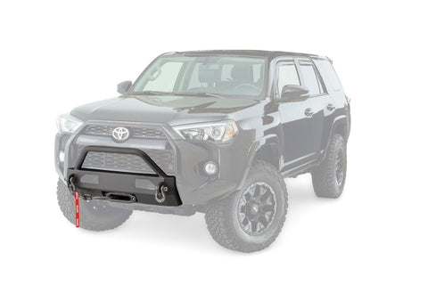 14-Current Toyota 4Runner Semi Hidden Winch Mounting Kit Winch Mount Warn Industries