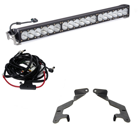 "'14-Current Toyota Tundra Lower Bumper 30"" Light Bar Kit Lighting Baja Designs"