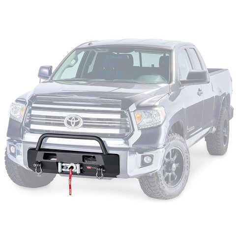 '14-Current Toyota Tundra Semi Hidden Winch Mount Kit Bumper Warn Industries