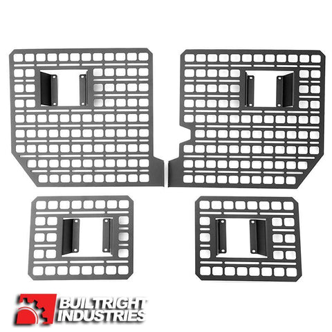 15-Current Ford F150 Bedside Rack System-4 Panel Kit Bed Accessory BuiltRight Industries