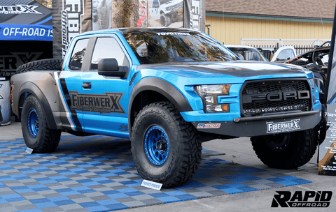 15-Current Ford F150 Luxury PreRunner One Piece Fiberglass Fiberwerx