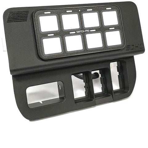 '16-19 Toyota Tacoma Specific 8-Switch Power Panel with Concealed Mounting Hardware Lighting SDHQ Off Road