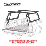 '16-Current Toyota Tacoma-ACS Forged Bed Accessories Leitner Designs