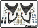 16-Current Toyota Tacoma Long Travel Kit Suspension Dirt King Fabrication