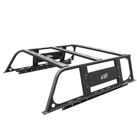 16-Current Toyota Tacoma Overland Bed Rack Bumper CBI Off Road