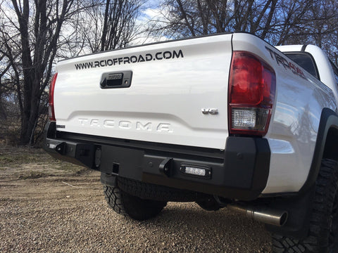 16-Current Toyota Tacoma Rear Bumper Bumper RCI Off Road