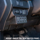 '16-Current Toyota Tacoma SDHQ Built Complete Switch Pros SP-9100 Mounting Kit Lighting SDHQ Off Road