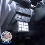 '16-Current Toyota Tacoma SDHQ Built Switch-Pros RCR-Force-12 Keypad Mount Lighting SDHQ Off Road