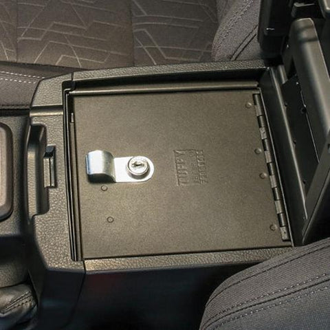 '16-Current Toyota Tacoma Security Console Insert Security Tuffy Security Products