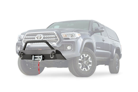 16-Current Toyota Tacoma Semi Hidden Winch Mounting Kit Winch Mount Warn Industries
